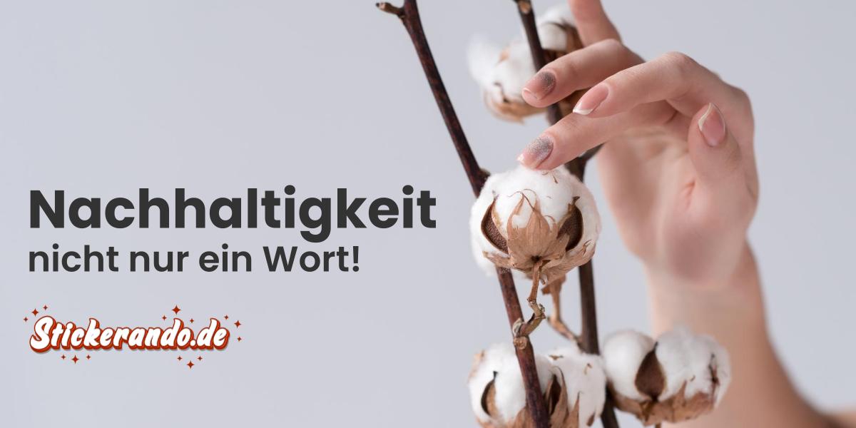Stickerando.de - Nachhaltigkeit unserer Bio-Produkte