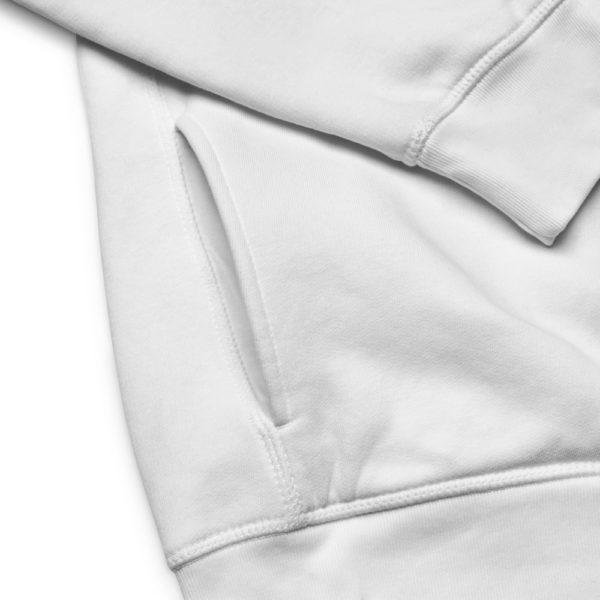 bio unisex hoodie detail 10