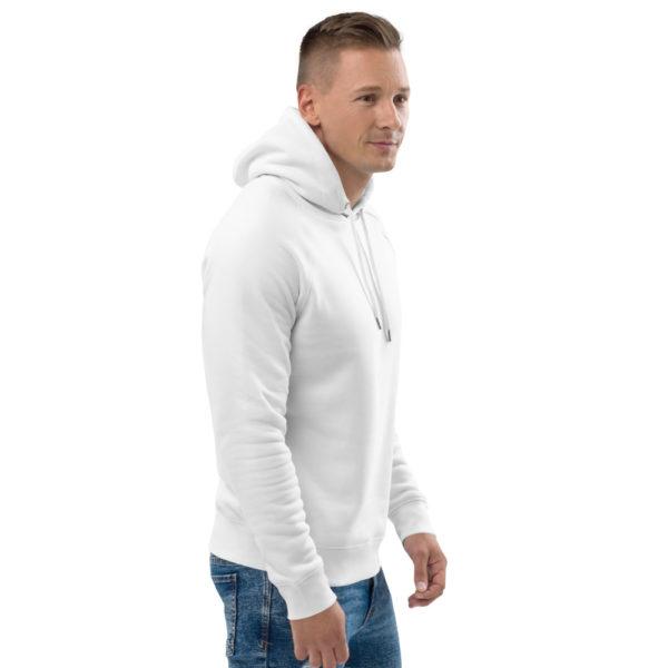 bio unisex hoodie detail 12