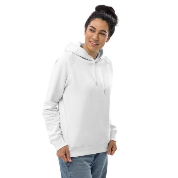 bio unisex hoodie detail 13