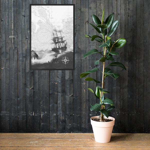 enhanced matte paper framed poster cm black 61x91 cm lifestyle 1 6026654dc4b54