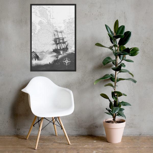 enhanced matte paper framed poster cm black 61x91 cm lifestyle 2 6026654dc4d1b