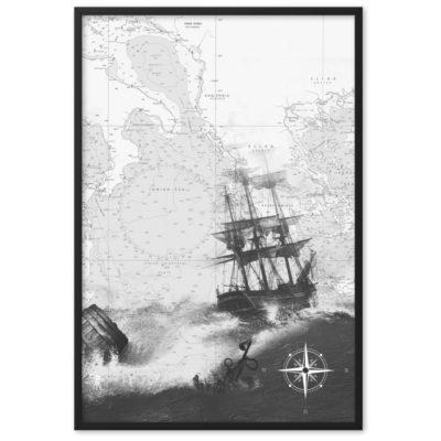 enhanced matte paper framed poster cm black 61x91 cm transparent 60266300cf17e