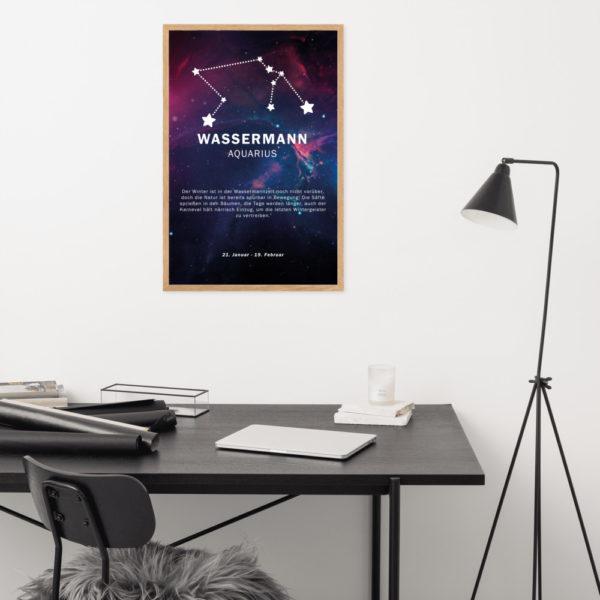 enhanced matte paper framed poster cm oak 61x91 cm front 60392539ad906