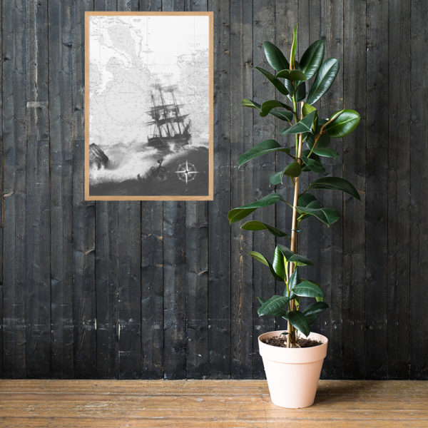 enhanced matte paper framed poster cm oak 61x91 cm lifestyle 1 6026654dc4d5c