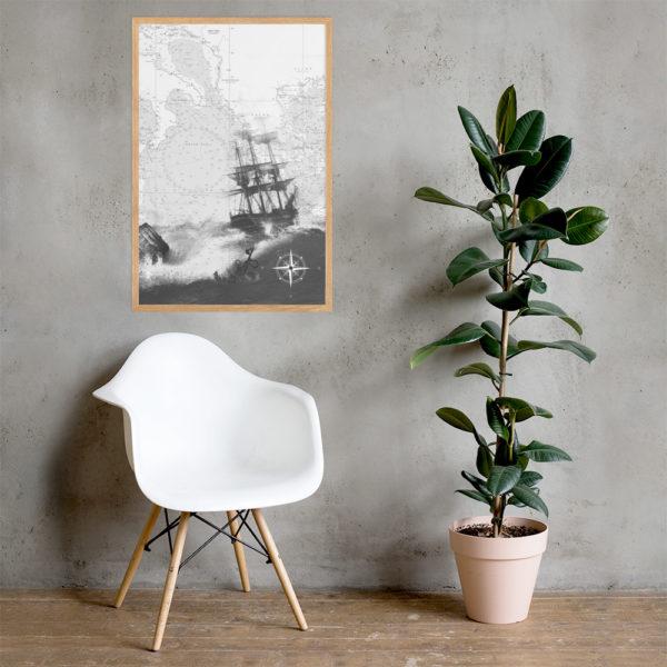 enhanced matte paper framed poster cm oak 61x91 cm lifestyle 2 6026654dc4d97