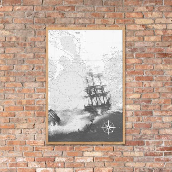 enhanced matte paper framed poster cm oak 61x91 cm lifestyle 4 6026654dc4db3