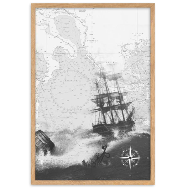 enhanced matte paper framed poster cm oak 61x91 cm transparent 60266300cf21e