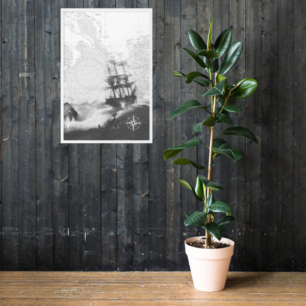 enhanced matte paper framed poster cm white 61x91 cm lifestyle 1 6026654dc4df4