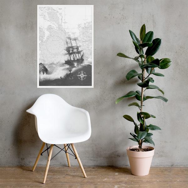 enhanced matte paper framed poster cm white 61x91 cm lifestyle 2 6026654dc4e2d
