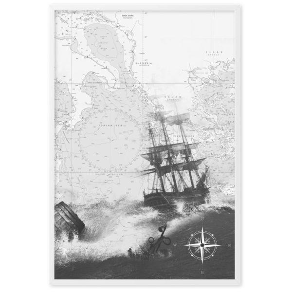 enhanced matte paper framed poster cm white 61x91 cm transparent 60266300cf26f