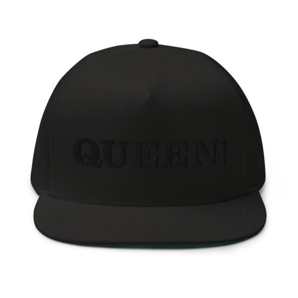 flat bill cap black front 60856f2ac330e