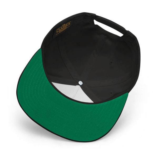 flat bill cap black product details 60856df2bf922