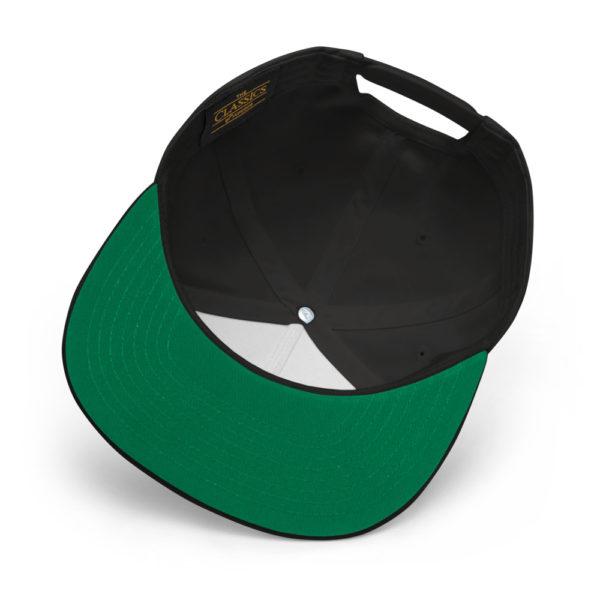 flat bill cap black product details 60856f2ac3694