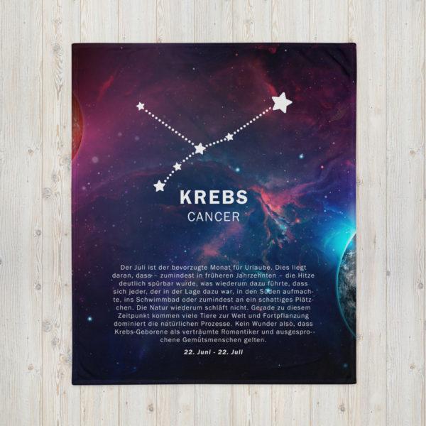 tagesdecke sternenzeichen krebs 1