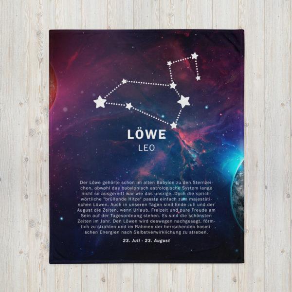 tagesdecke sternenzeichen loewe 1