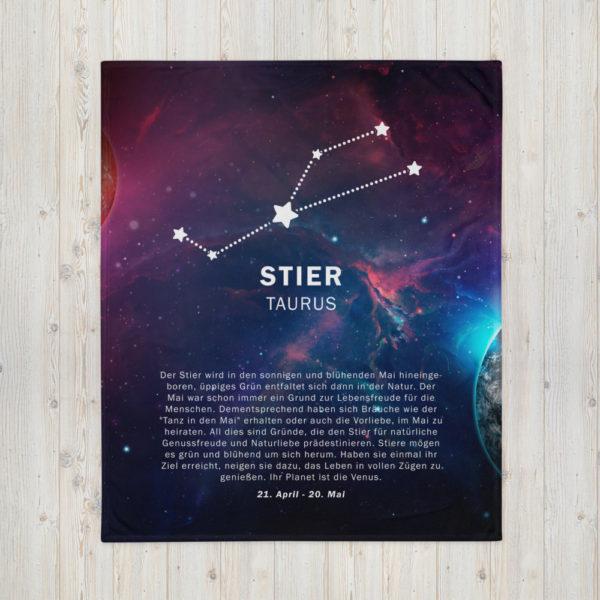 tagesdecke sternenzeichen stier 1