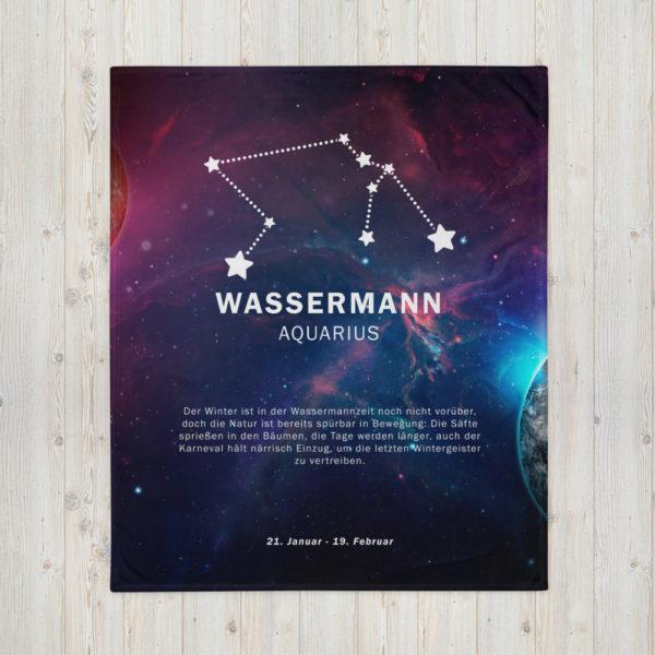 tagesdecke sternenzeichen wassermann 8