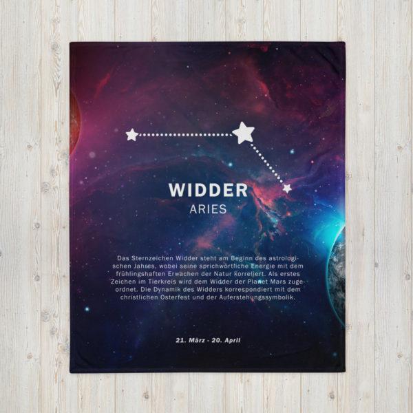 tagesdecke sternenzeichen widder 1