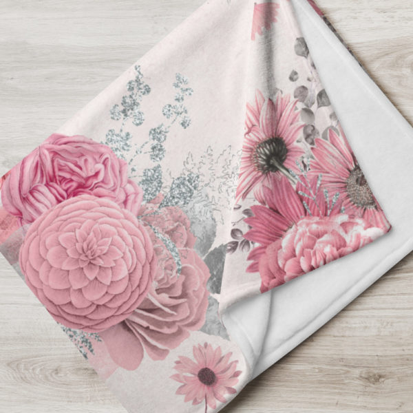 Tagesdecke - Blumenmuster Amelie