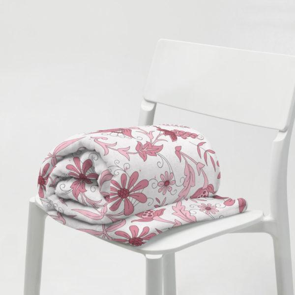 Tagesdecke - Blumenmuster Maxi