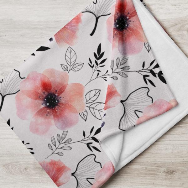 Tagesdecke - Blumenmuster Josephine