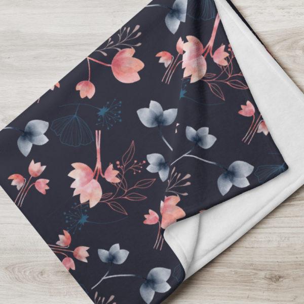 Tagesdecke - Blumenmuster Mira