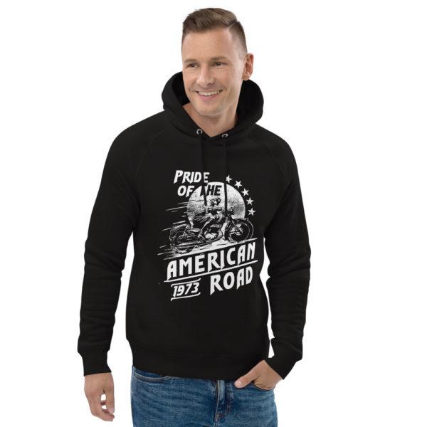 unisex eco hoodie black front 2 603006f0b83c1