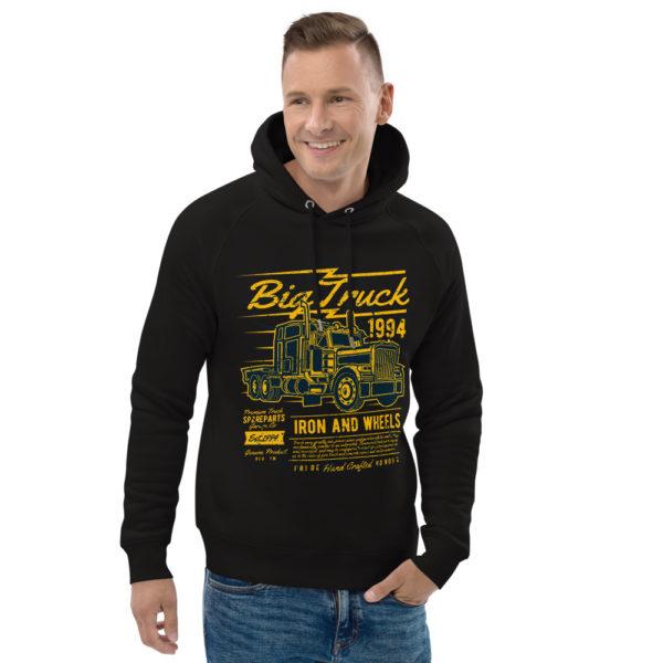 unisex eco hoodie black front 2 603100b4c256d