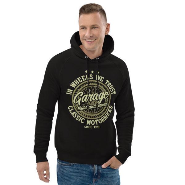 unisex eco hoodie black front 2 609045c4e9d33