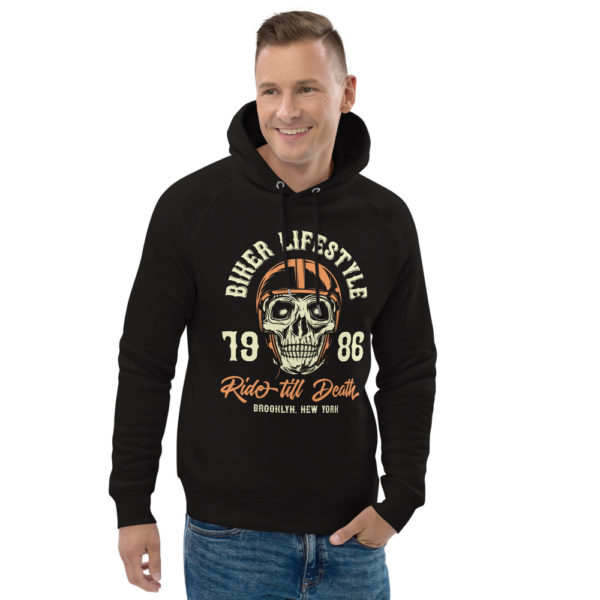 unisex eco hoodie black front 2 6090492b1f088