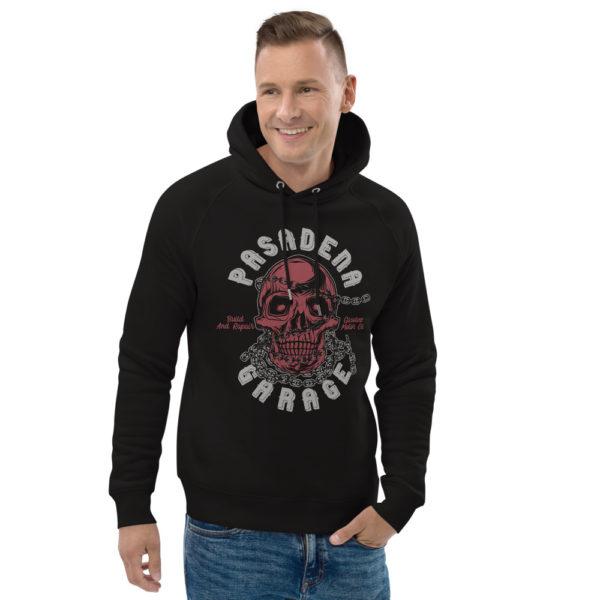 unisex eco hoodie black front 2 60904aa692e31