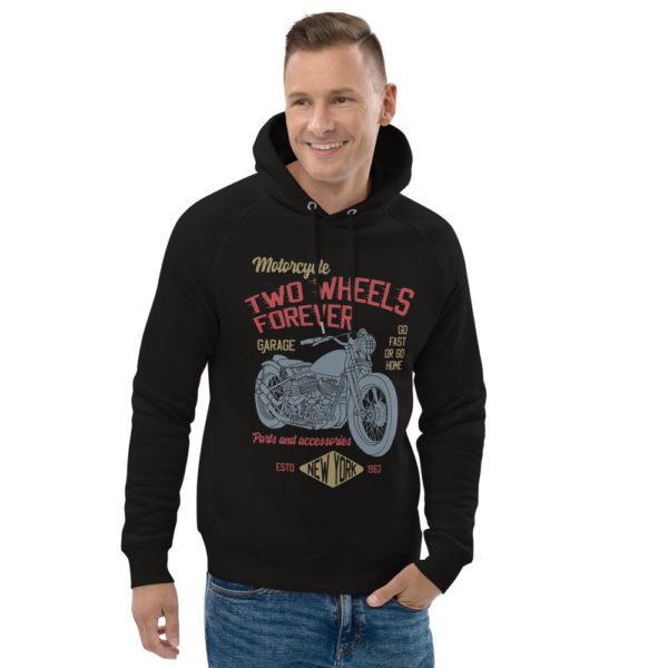 unisex eco hoodie black front 2 6093bd64ea9bd
