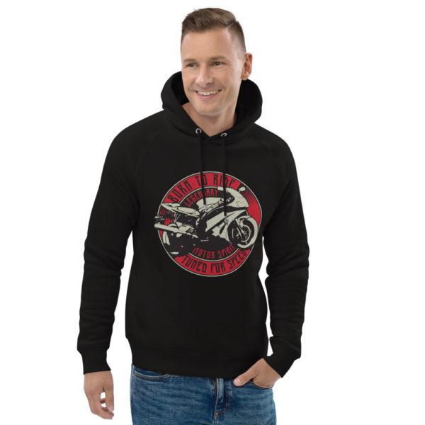 unisex eco hoodie black front 2 6093c1d0e3f28