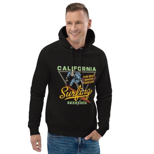 unisex eco hoodie black front 2 609a357de5a58