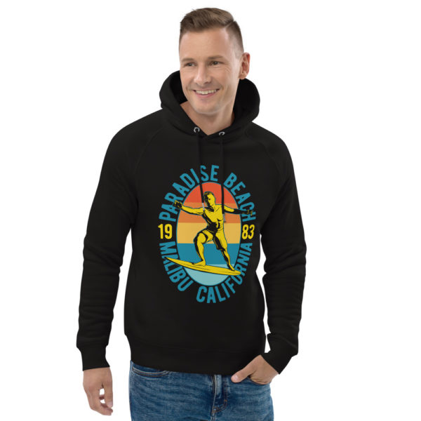 unisex eco hoodie black front 2 609a405d5aa05