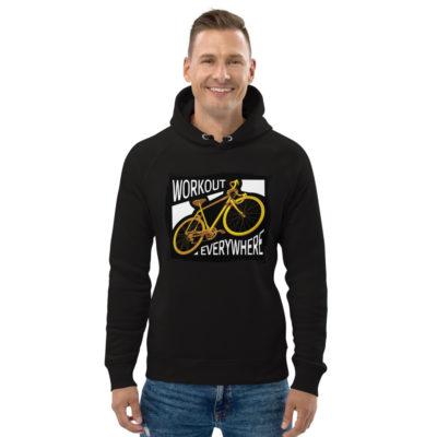 unisex eco hoodie black front 6030fd218b30b