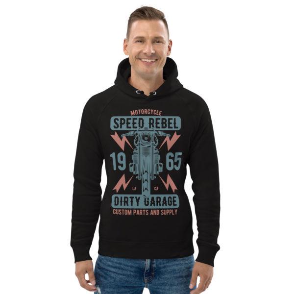 unisex eco hoodie black front 608fd201aa8eb