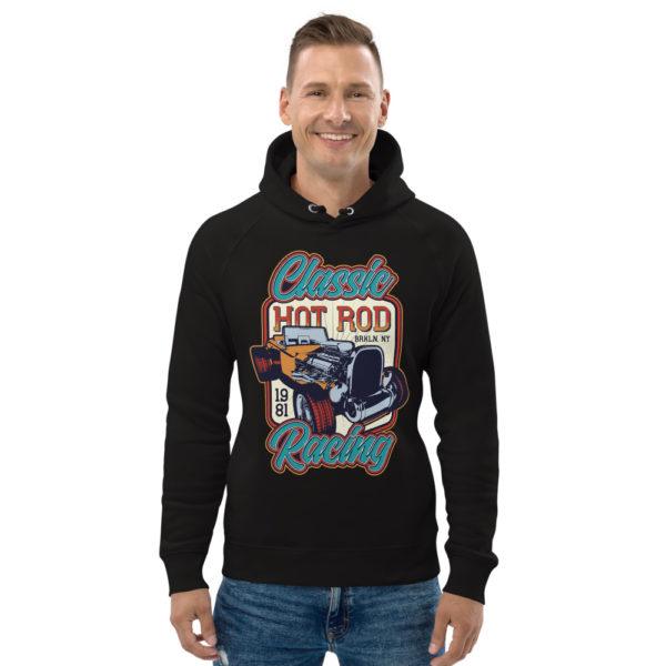 unisex eco hoodie black front 609260256bd1e
