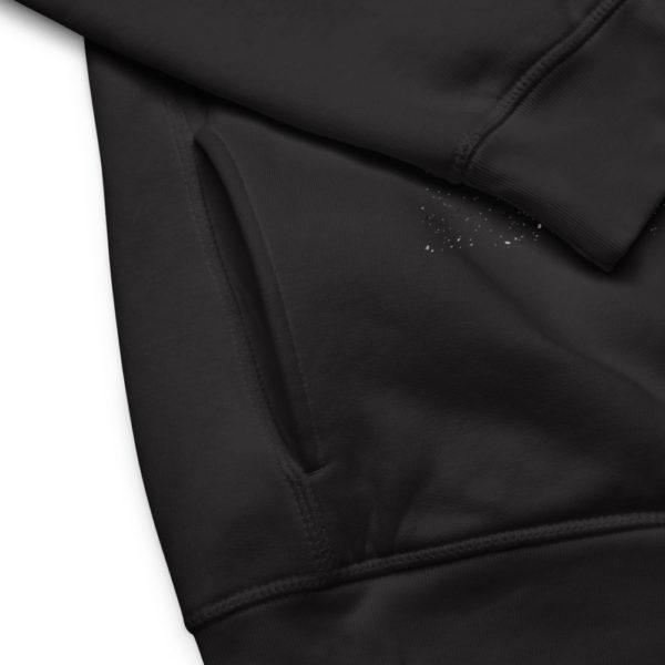 unisex eco hoodie black product details 6030f9647ad50
