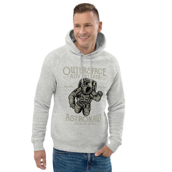 unisex eco hoodie heather grey front 2 6030fb3e09f62