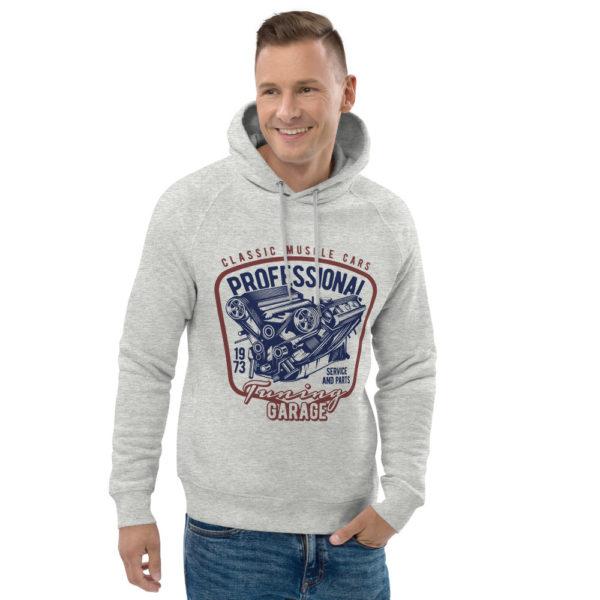 unisex eco hoodie heather grey front 2 609255202316c