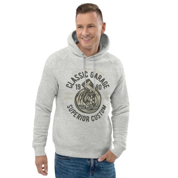 unisex eco hoodie heather grey front 2 609255bb13874