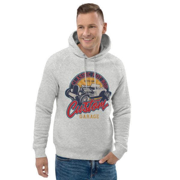 unisex eco hoodie heather grey front 2 60925fd444203