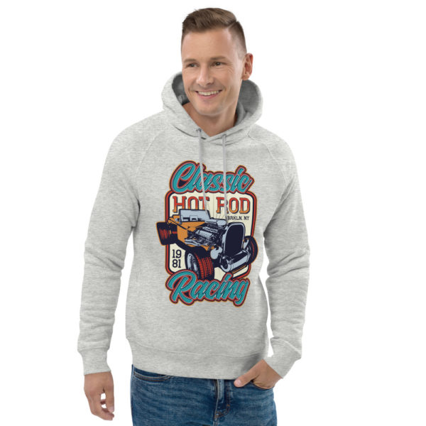 unisex eco hoodie heather grey front 2 609260256c563