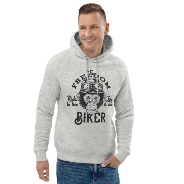 unisex eco hoodie heather grey front 2 60926118d6811
