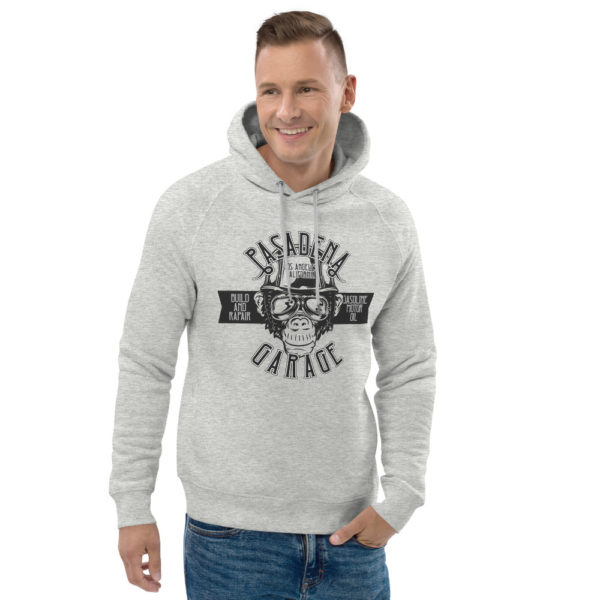 unisex eco hoodie heather grey front 2 6093bb0e2a24e
