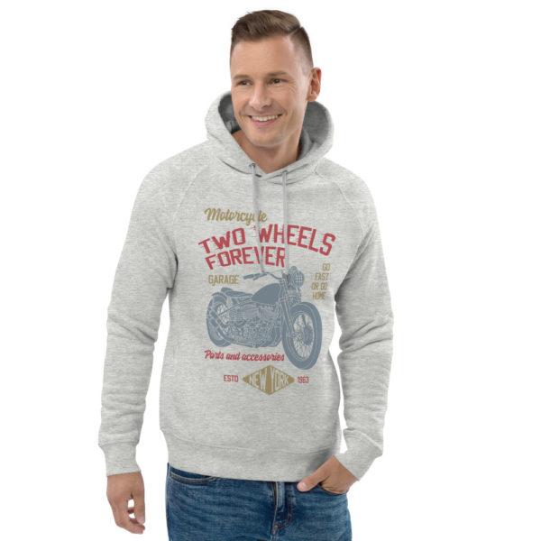 unisex eco hoodie heather grey front 2 6093bd64eae6f