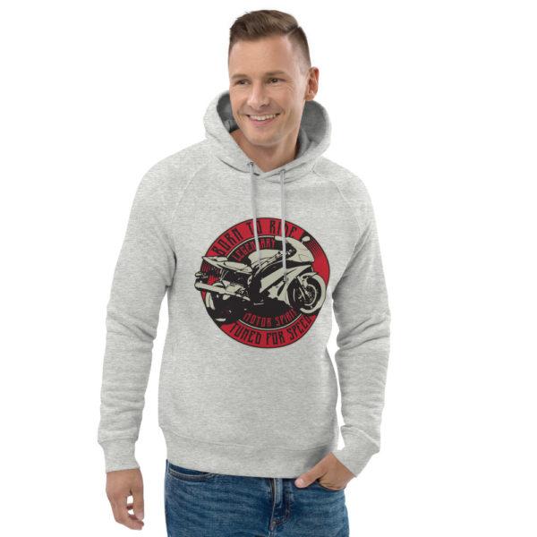 unisex eco hoodie heather grey front 2 6093c1d0e4326