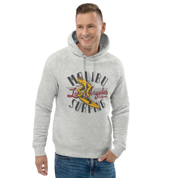 unisex eco hoodie heather grey front 2 609a33737f495